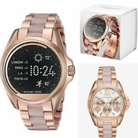 Michael Kors Accessories Bradshaw Touchscreen Smart Watch Poshmark